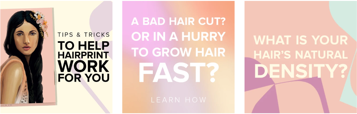 About Hairprint Homepage