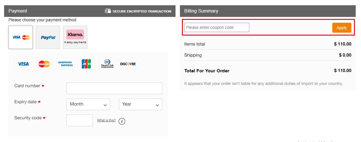 How do I use my Cabin Zero coupon code?
