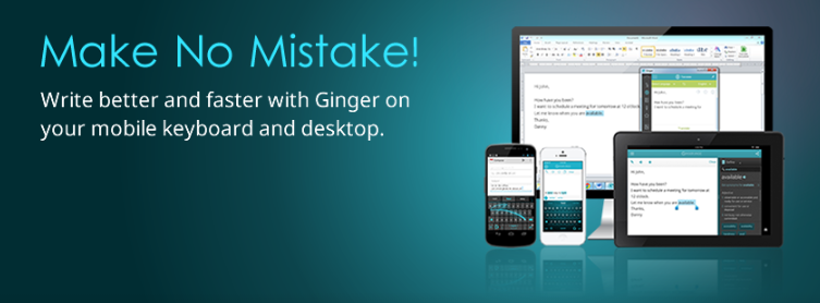 About Ginger homepage