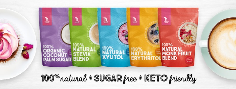 About Naturally Sweet Products Homepage