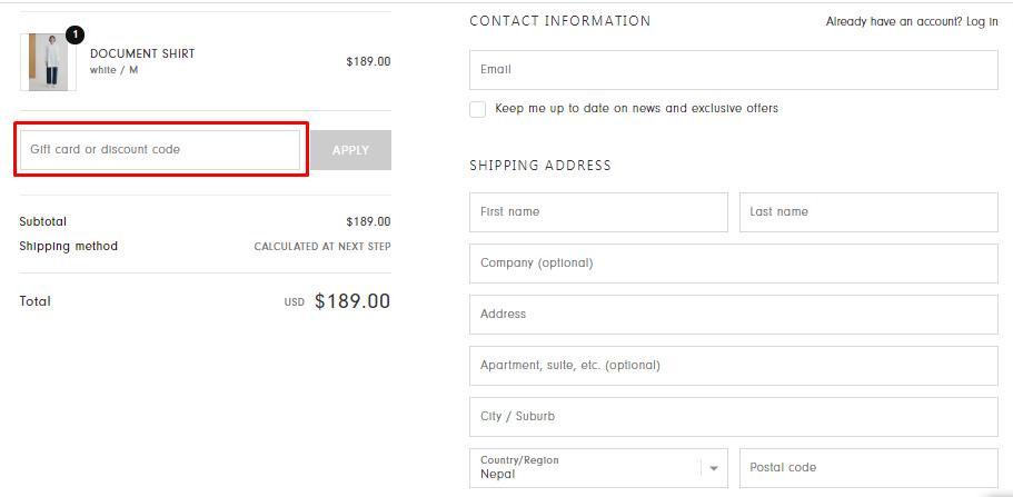 How do I use my Kowtow coupon code?