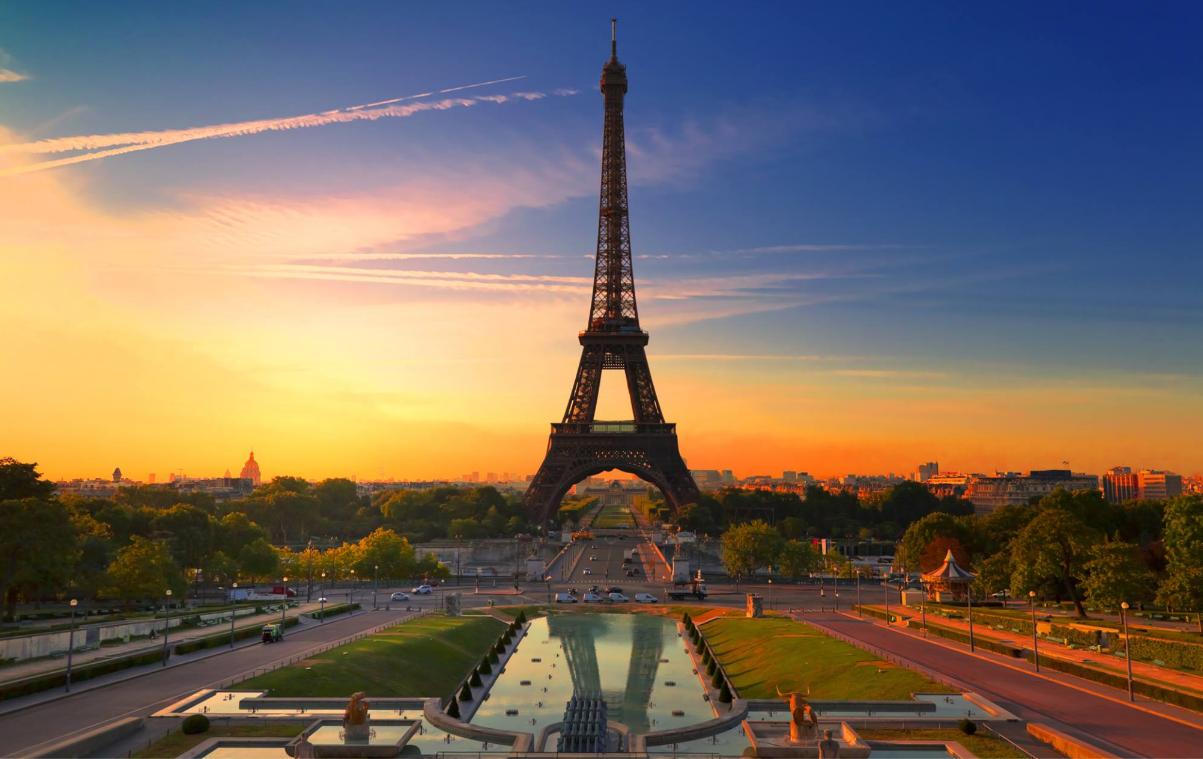 Paris City Vision Homepage
