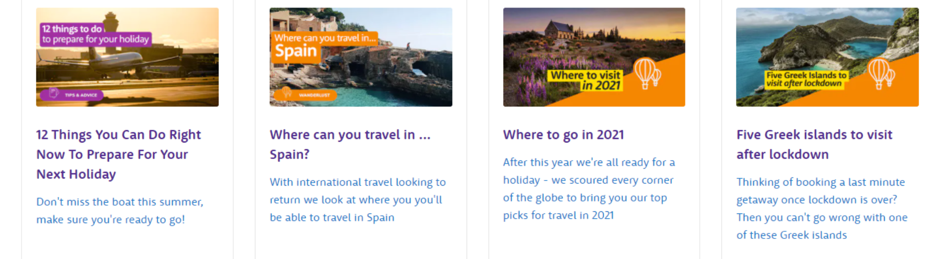 Holiday Extras About