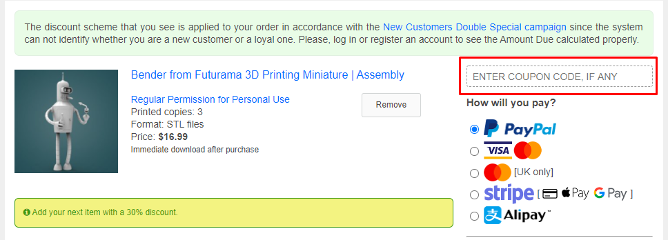 How do I use my Gambody coupon code?