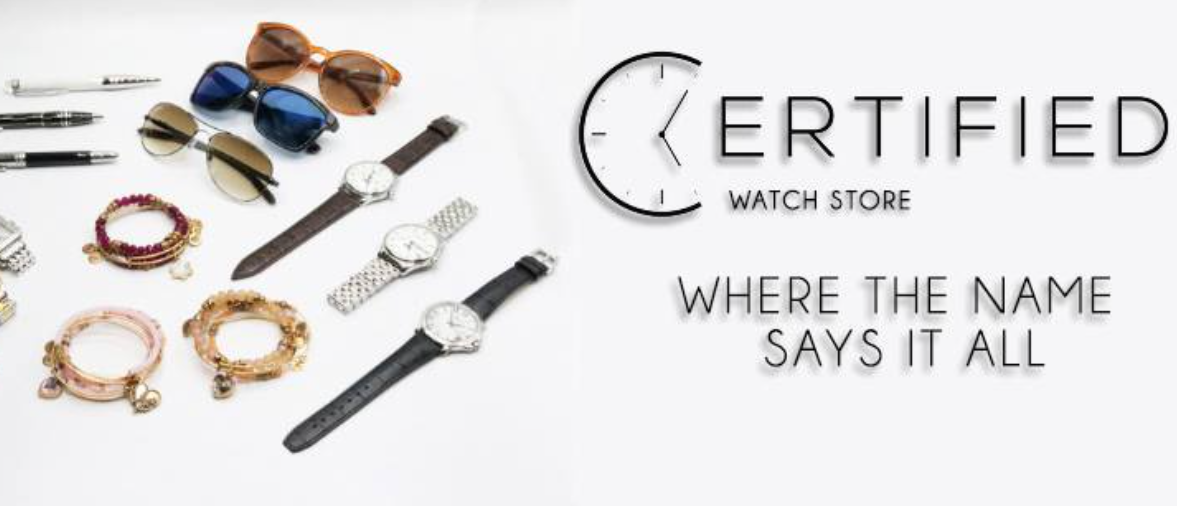 About CertifiedWatchStore Homepage