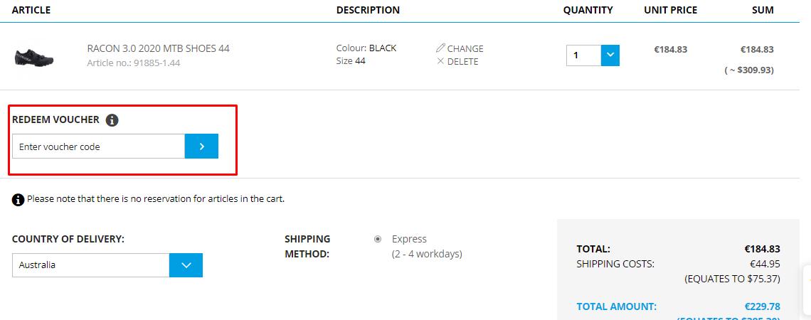 How do I use my BobShop discount code?