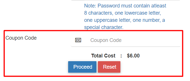 How do I use my InterServer coupon code?