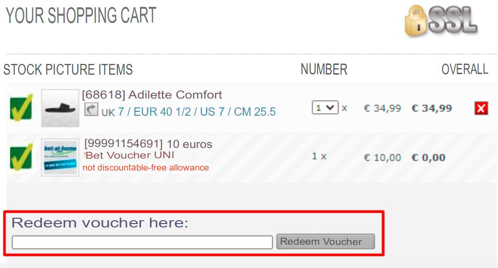 How do I use my SC24.com voucher code?