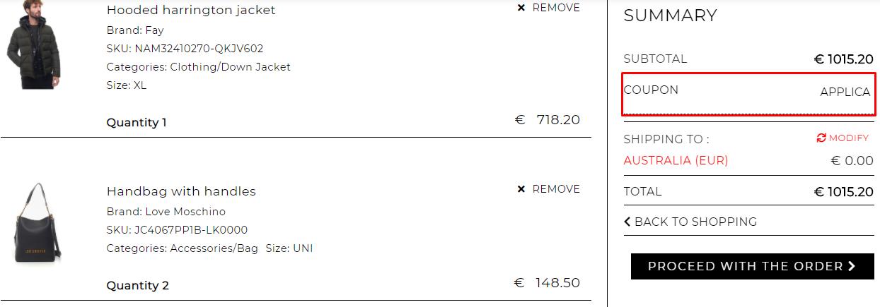 How do I use my ScaglioneIschia coupon code?