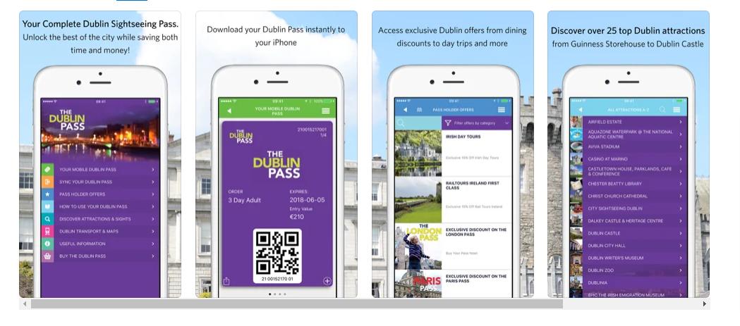 Dublin Pass App