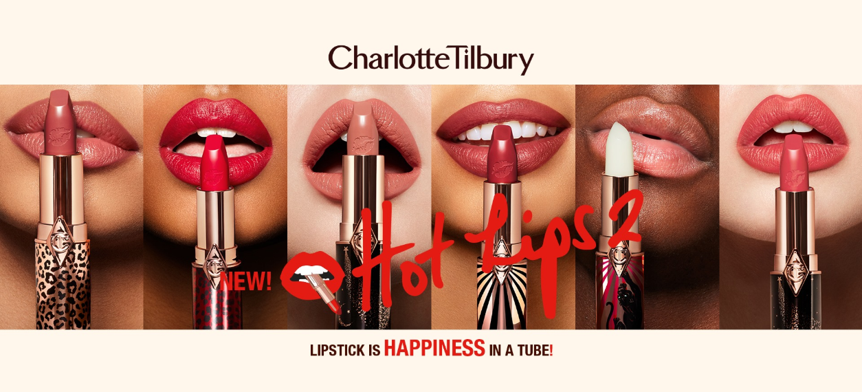 About Charlotte Tilbury Homepage