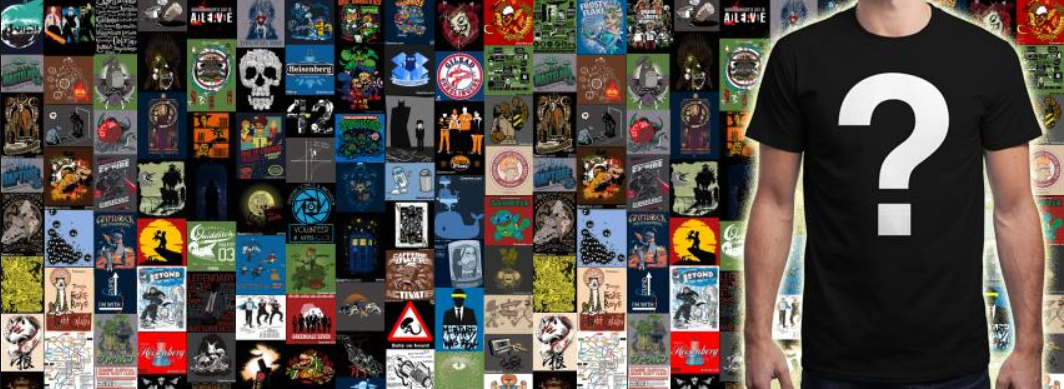 About Qwertee Homepage