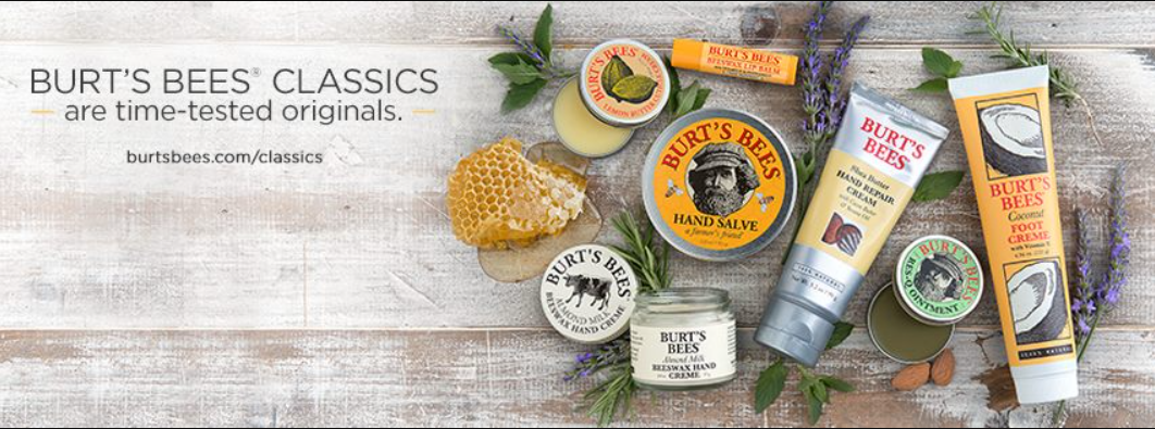 About Burt's Bees Homepage