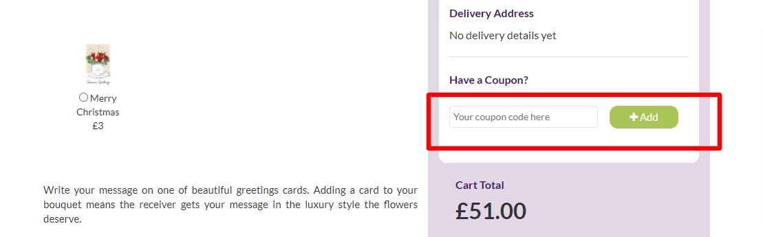 Bloom Magic UK Checkout