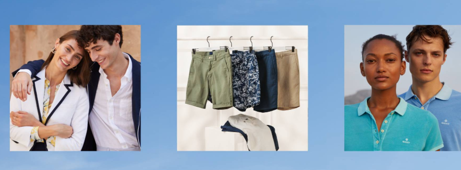 About Gant homepage