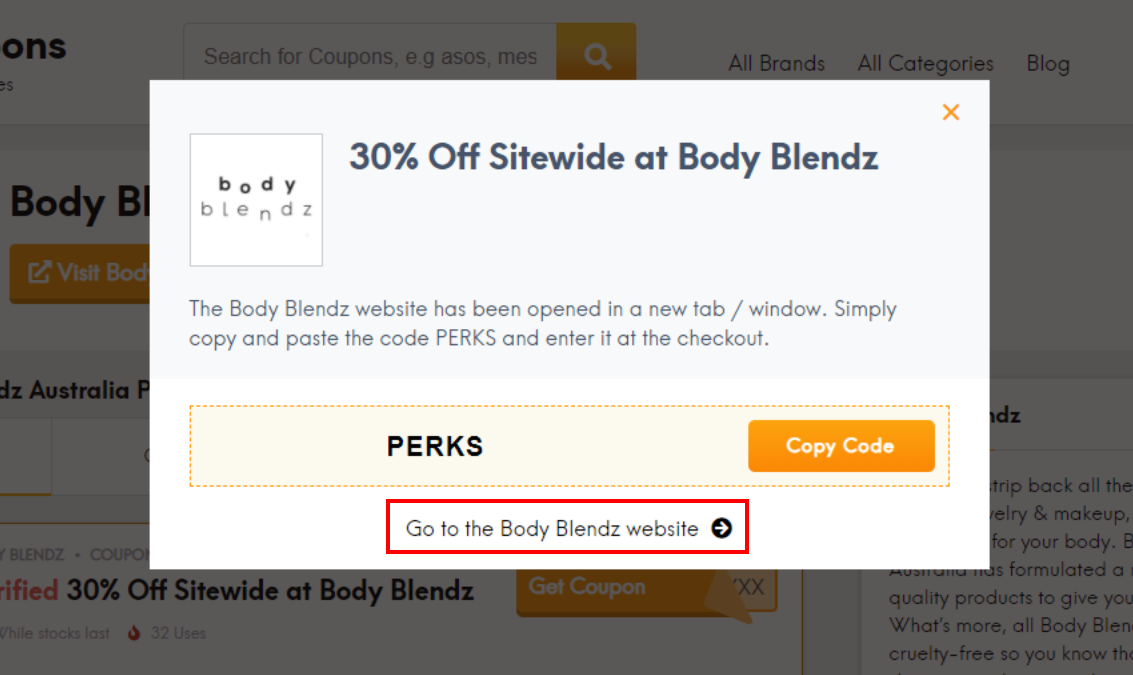 How do I use my Body Blendz discount code?