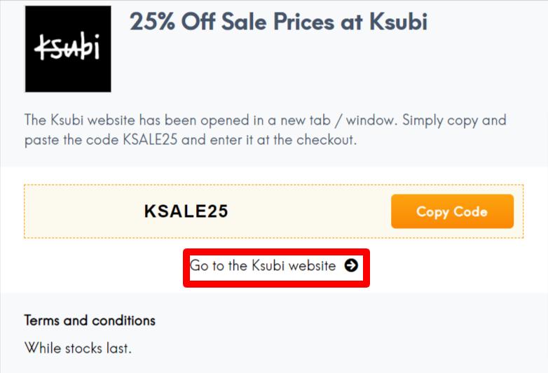 Ksubi Coupon Code AU LC Site