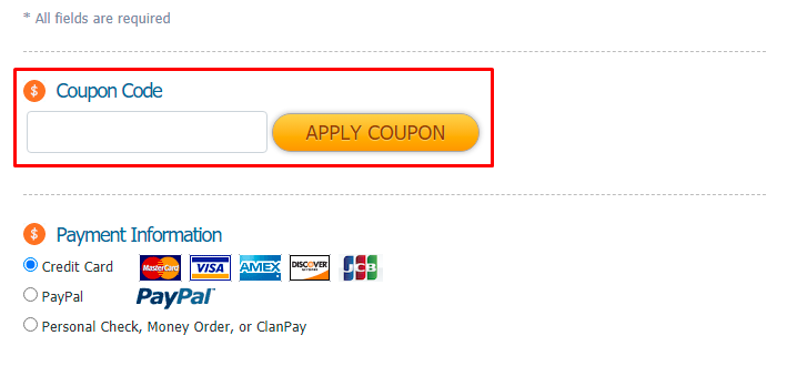 How do I use my Gameserver coupon code?