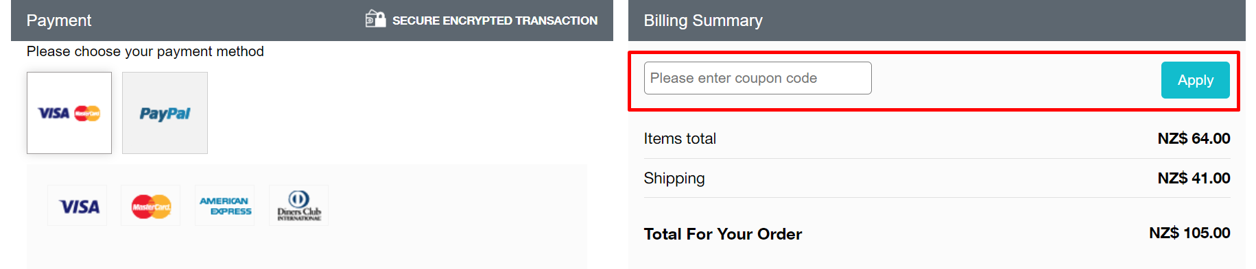 How do I use my The Detox Market coupon code?