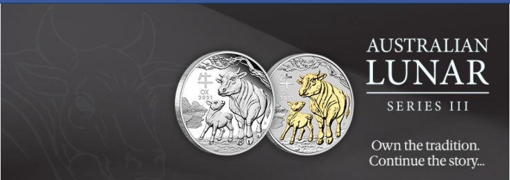About The Perth Mint Homepage