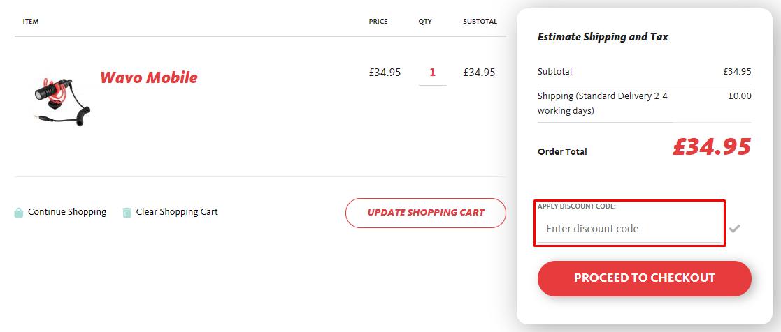How do I use my Joby discount code?