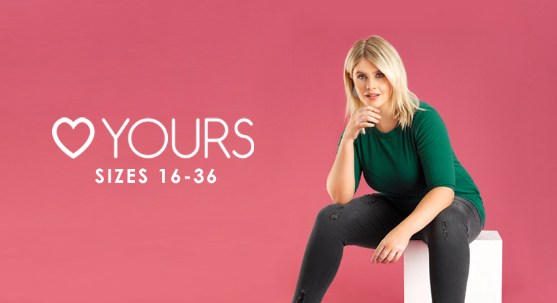 About YoursClothing Homepage