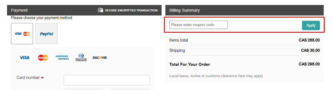 How do I use my Article coupon code?