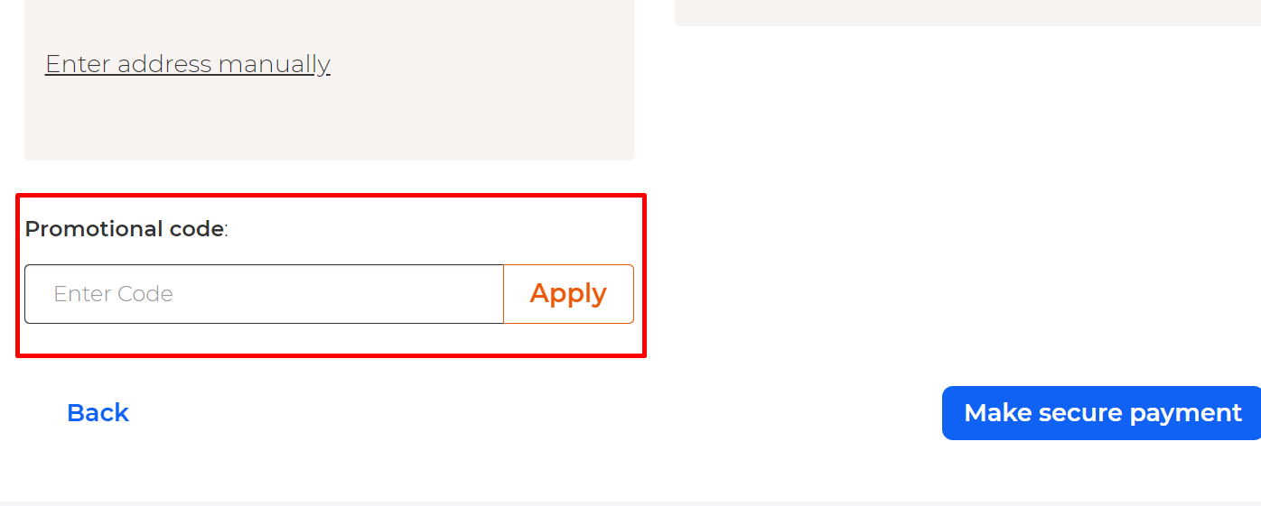 How do I use my Zava promotional code?