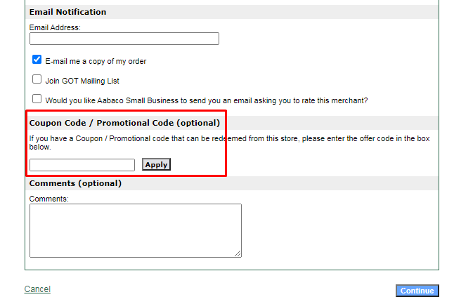 How do I use my Tennis Boom coupon code?