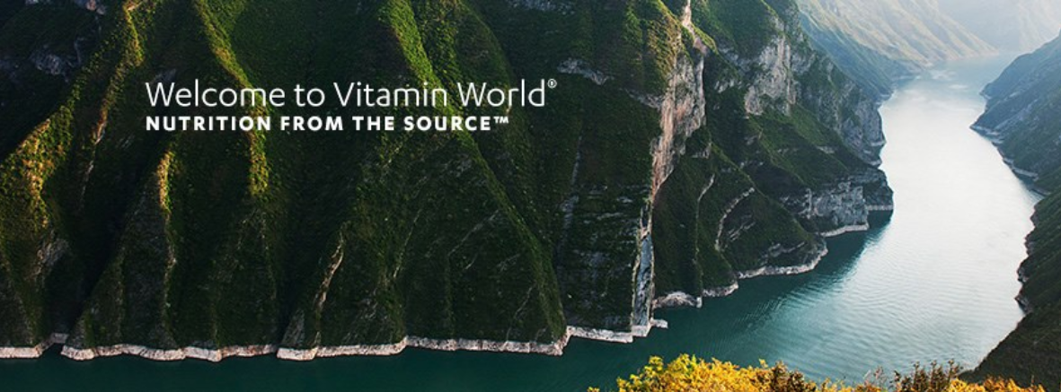 About Vitamin World Homepage