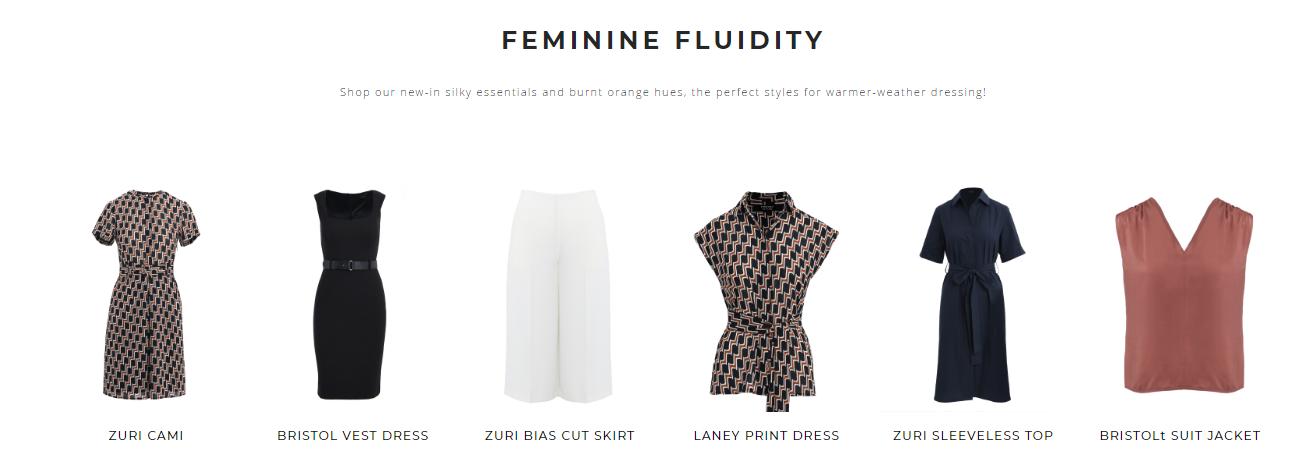 Forcast Feminine Fluidity