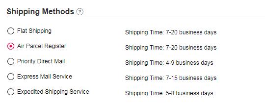 Newchic Shipping