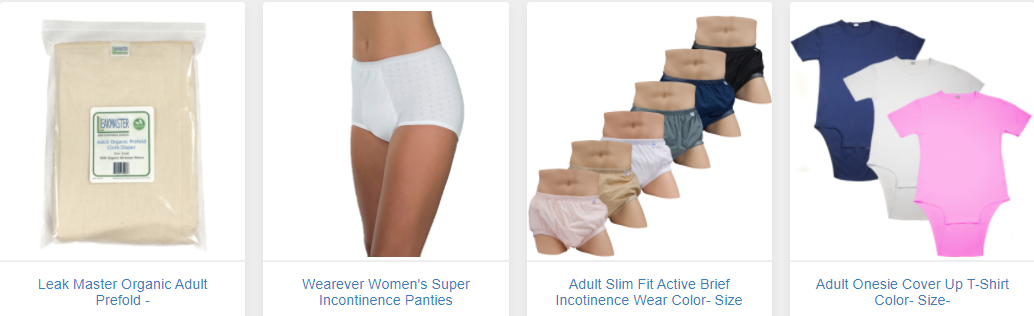 About AdultClothDiaper.Com Homepage