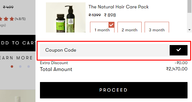 How do I use my Bold Care coupon code?