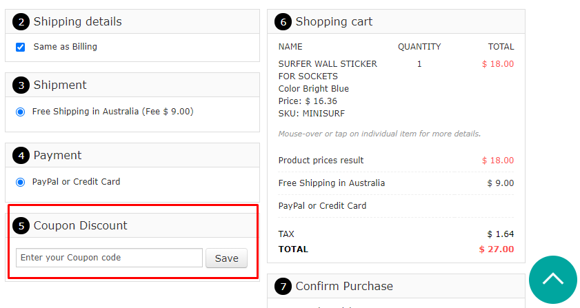 How do I use my Vinyl Design coupon code?