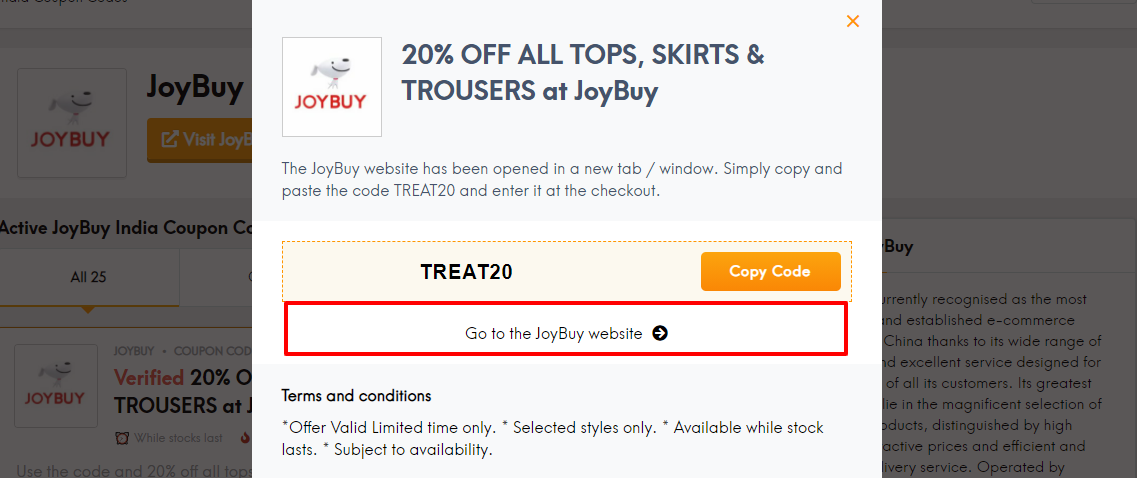Joybuy coup lc in