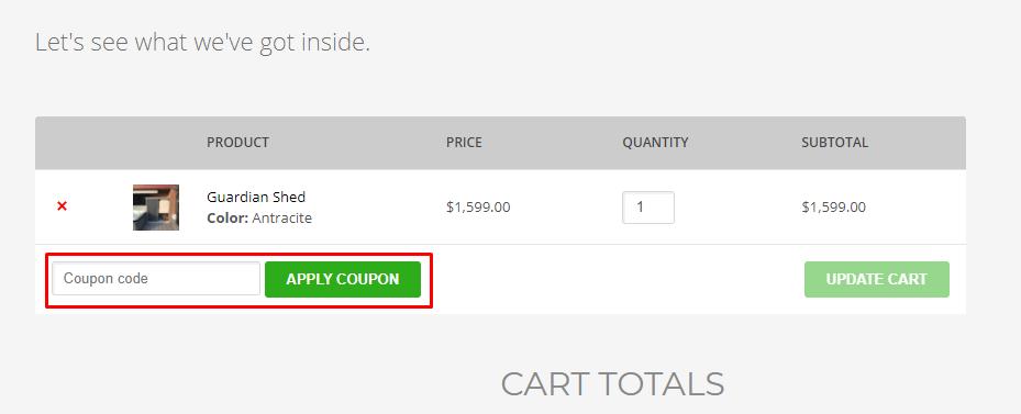 How do I use my Trimetals coupon code?