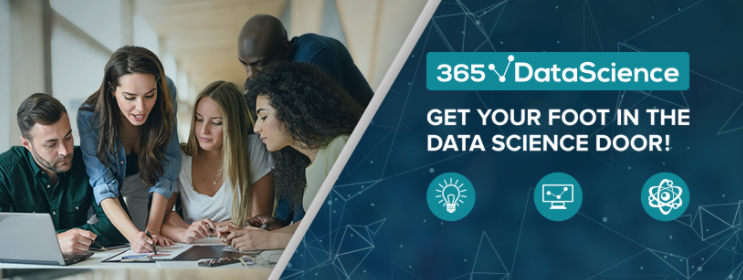 About 365 Data Science Homepage