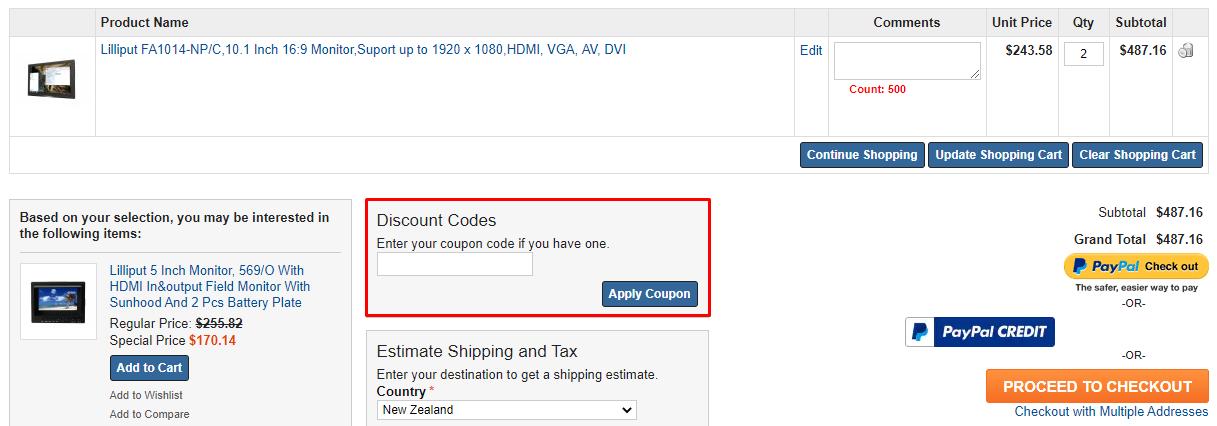 How do I use my Europelilliput discount code?