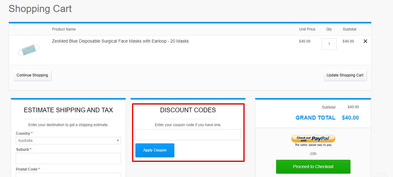 How do I use my ThePharmacy discount code?