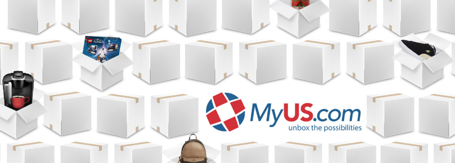 About MyUS.com homepage