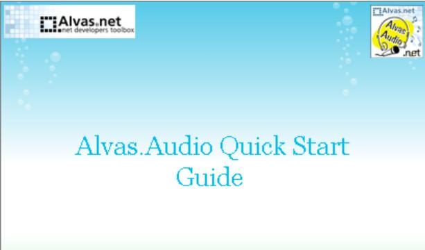 About Alvas.net Homepage