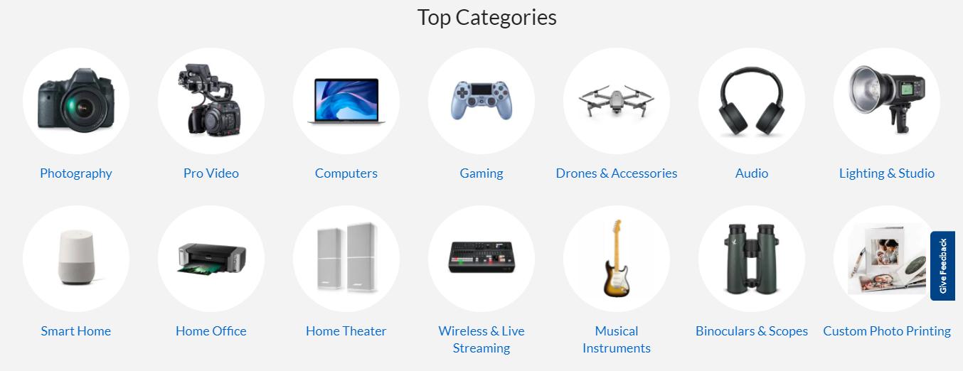 Adorama categories