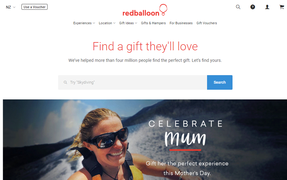 Red Balloon Homepage