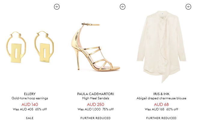 THE OUTNET Sales