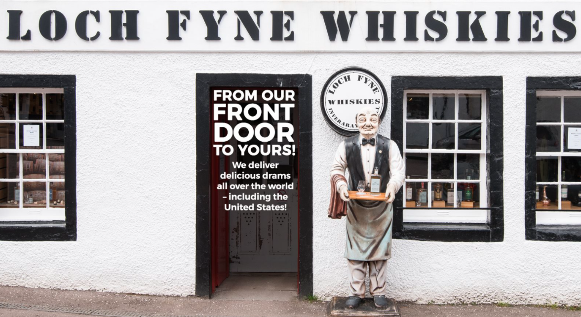 About Loch Fyne Whiskies Homepage