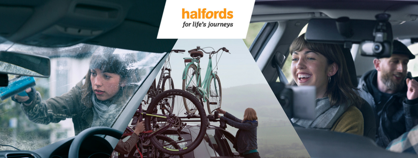 About Halfords Homepage