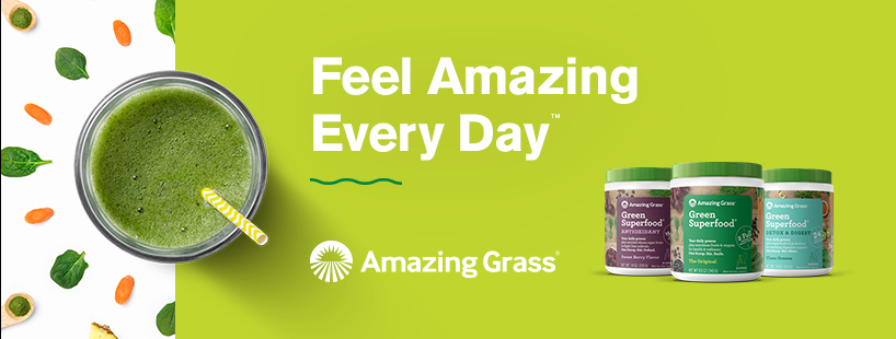 About Amazing Grass Homepage