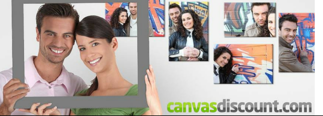 About CANVASDISCOUNT Homepage