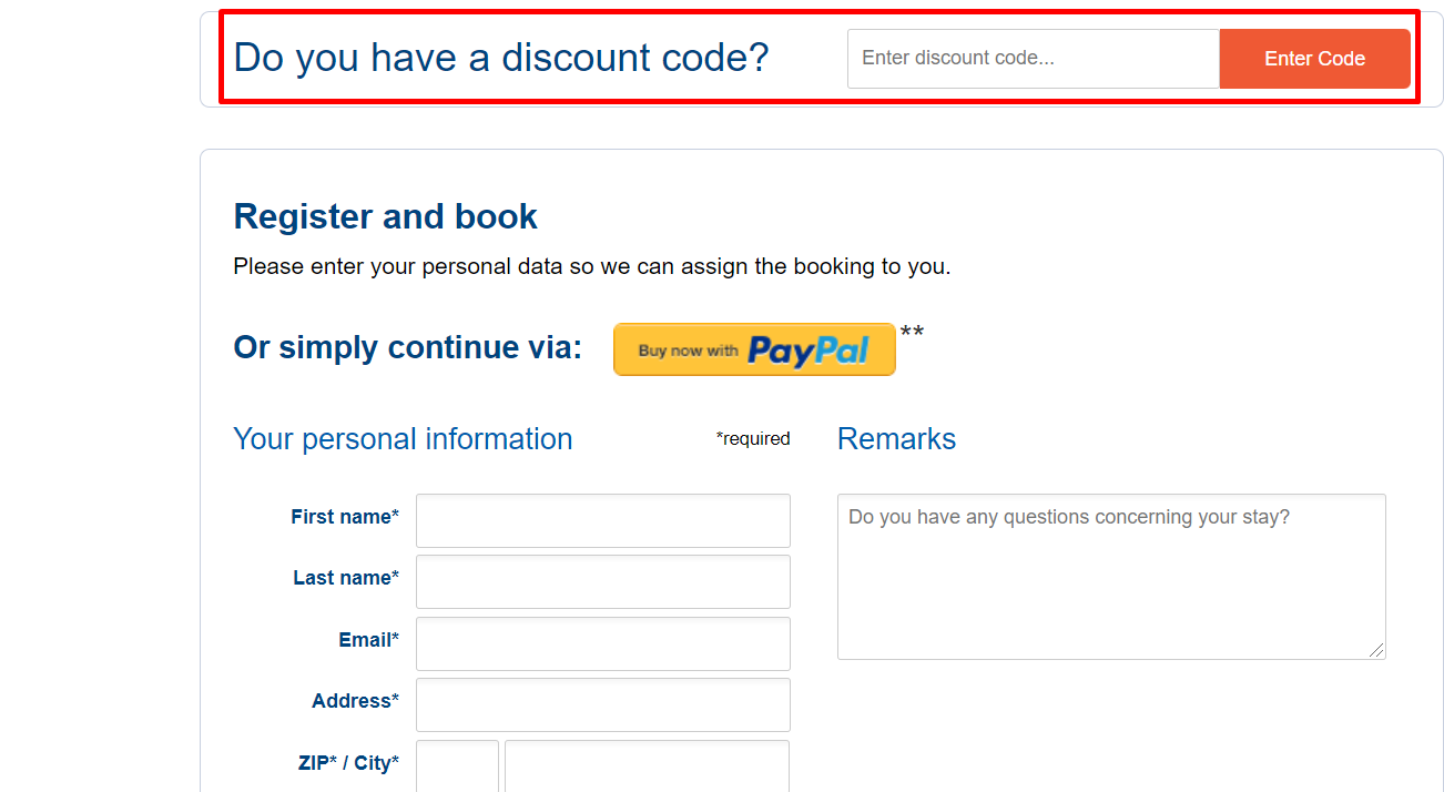 How do I use my a&o Hostels discount code?